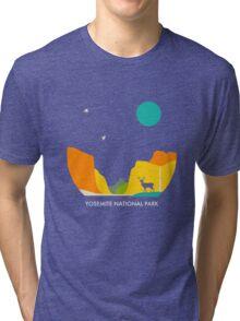 YOSEMITE NATIONAL PARK Tri-blend T-Shirt