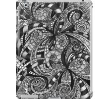 Case Drawing floral abstract background iPad Case/Skin