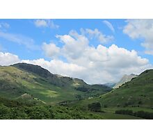 Little Langdale Valley Cumbria Photographic Print