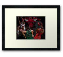 Chicago Bulls - Joakim Noah Poster Framed Print