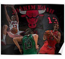 Chicago Bulls - Joakim Noah Poster Poster