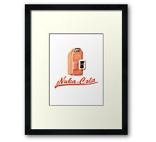 Nuka Cola Machine - Quench Your Thirst! Framed Print