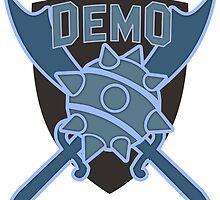 Team Fortress 2 Blu Demoman by Quintin Allensworth