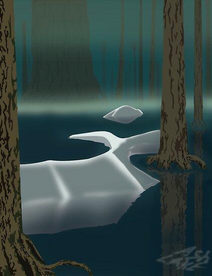 Ash Lake - Dark Souls by Tru7h