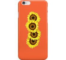Iphone Case Sunflowers - Sunset Orange iPhone Case/Skin