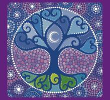 Moon-Tree Mandala T-Shirt