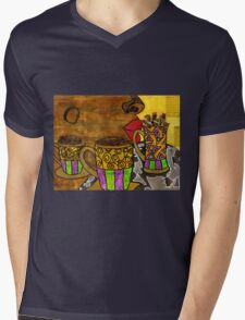 I'll Take Three Cups of Java Please Mens V-Neck T-Shirt
