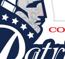 Columbia Patriots Sticker