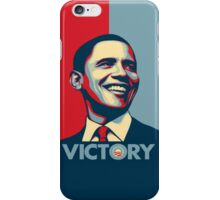 Obama VICTORY! iPhone Case/Skin