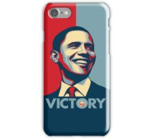 Obama VICTORY! iPhone Case/Skin
