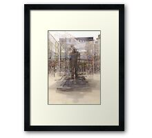 Fred Dibnah Gone Wild Framed Print