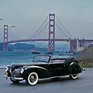 1941 Lincoln Continental Convertible 5 by DaveKoontz