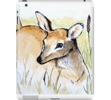 Doe in Tall Grass iPad Case/Skin