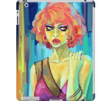 Green Woman iPad Case/Skin