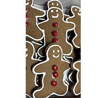 Gingerbread Men Photographic Print