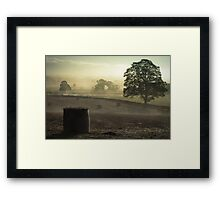 Mist Over The Eden Framed Print