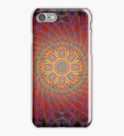 Psychedelic Spiral Design iPhone Case/Skin