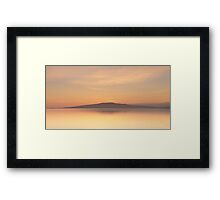 Criffel Over The Solway Framed Print