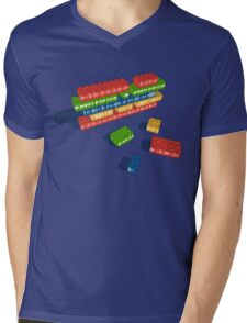 Playing with Music Mens V-Neck T-Shirt