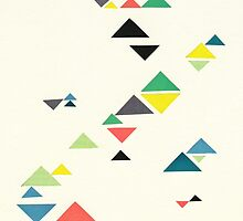 Triangles by Cassia Beck