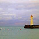 Donaghadee Lighthouse by Fara