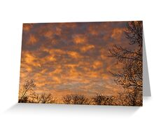 Sunrise 360 Greeting Card