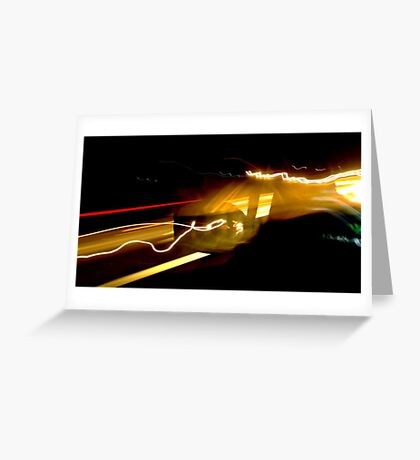 Speed Greeting Card