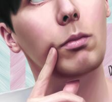 Phil Lester 'Pale Colours' Sticker