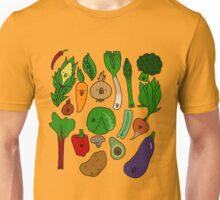 Happy Veggies Unisex T-Shirt