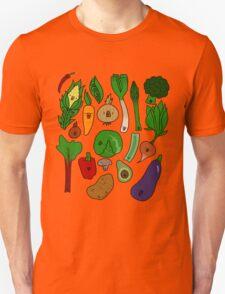 Happy Veggies Unisex T-Shirt