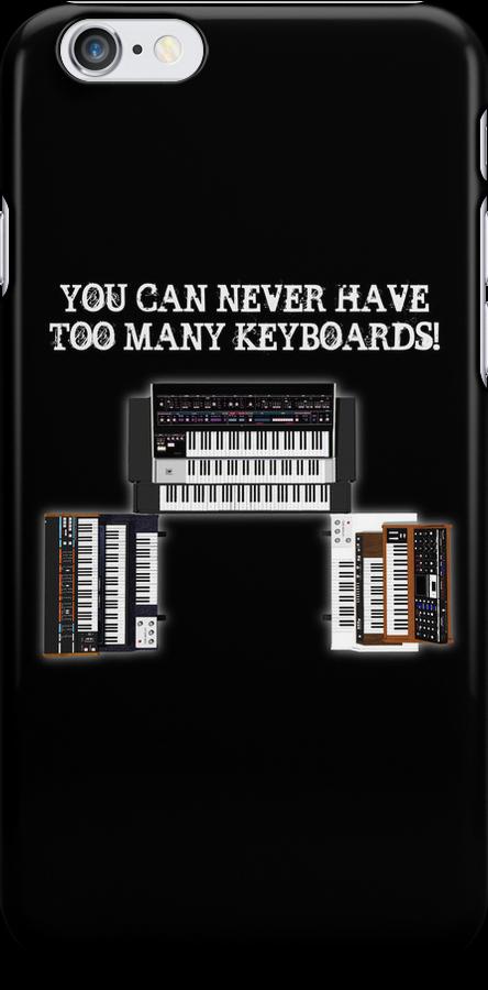 Too Many Keyboards! by bradyarnold