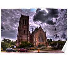 St Saviours Goulburn NSW Poster