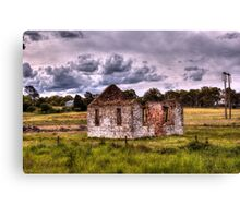 Church Ruins Hume Highway NSW Canvas Print