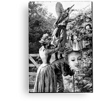 A Day for Wild Fruit Picking. Canvas Print