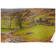 North Wales landscape Poster