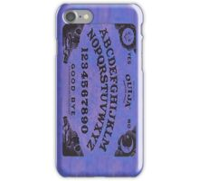 Ouija Board iPhone Case/Skin