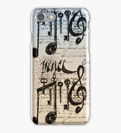 Musical Notes ihone case # 2  iPhone Case/Skin