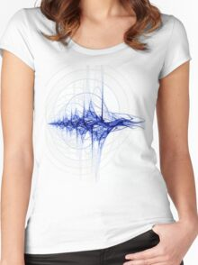 Radio Soundwave. . . Women's Fitted Scoop T-Shirt