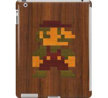 Super Wooden Mario iPad Case/Skin