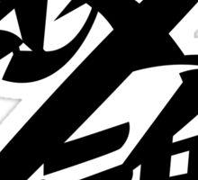 Gintama Black Logo, Anime T-Shirt Sticker