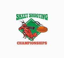 Crayfish Lobster Target Skeet Shooting  Unisex T-Shirt