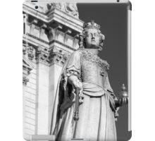 Queen Anne 1 B&W iPad Case/Skin