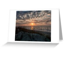 A Brand New Day, Ocean Isle Beach, NC Greeting Card