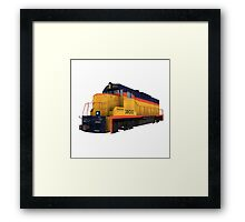 Railroad / Train Engine Framed Print