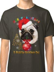 A Mighty Christmas Pug Classic T-Shirt