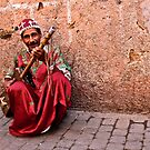 Moroccan Music Man by KerryPurnell