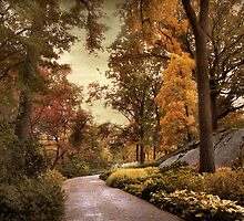 Azalea Garden in Autumn by Jessica Jenney