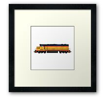 Train Engine Framed Print