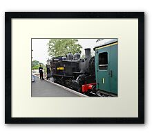 USA Class steam locomotive, Tenterden Framed Print