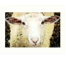 Sheep Art - Ewe Rang Art Print
